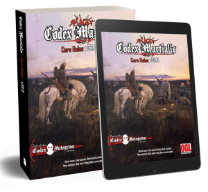 Codex Martialis Core Rules Cover