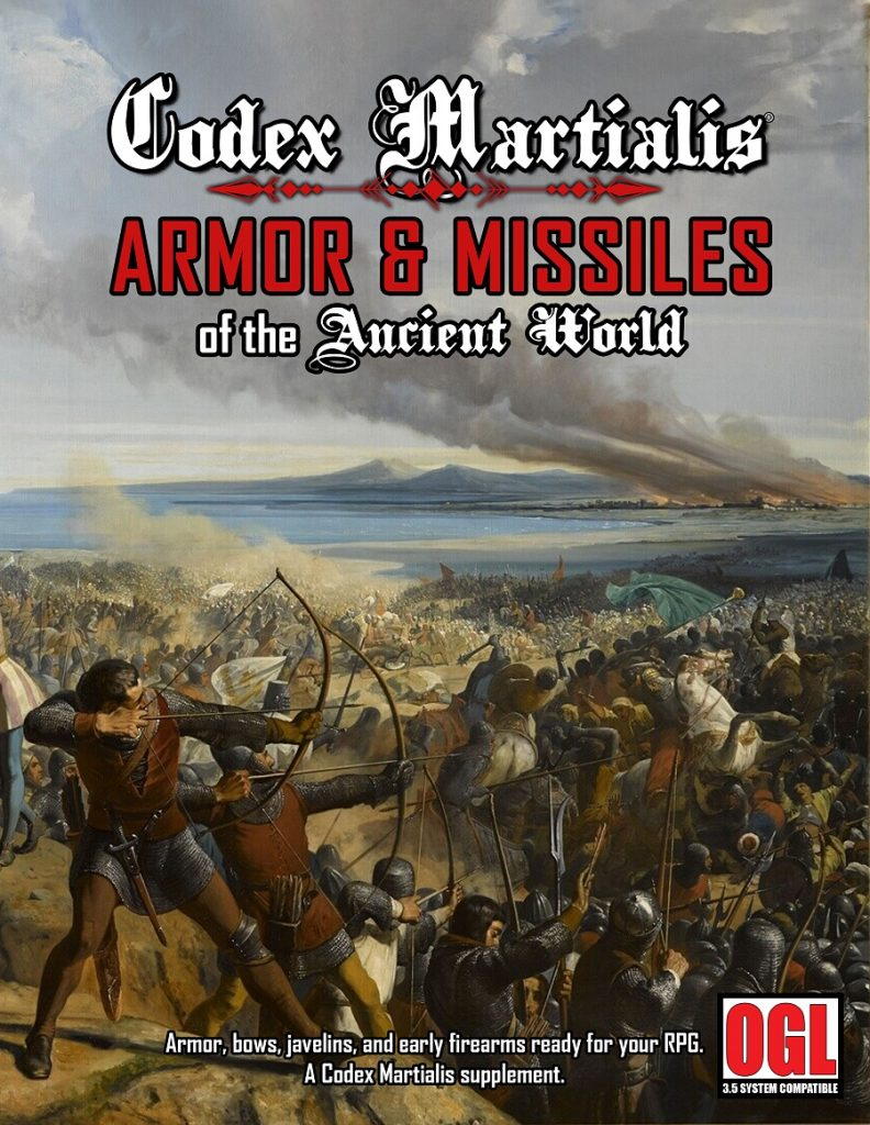 Codex Martialis: Armor & Missiles of the Ancient World
