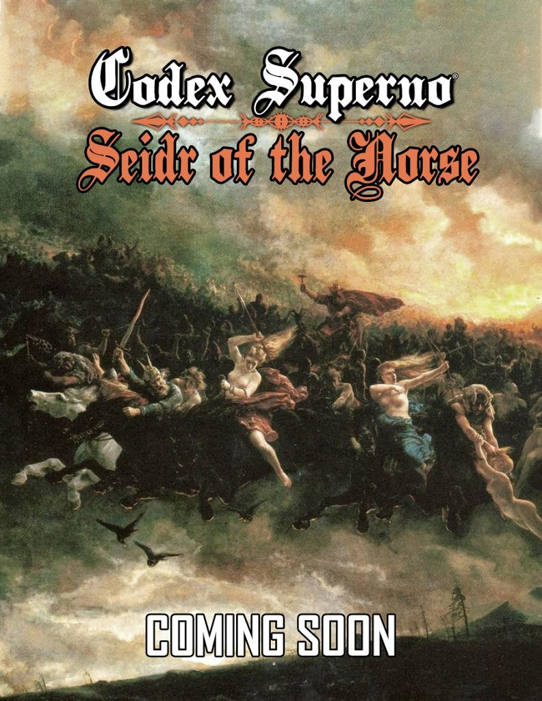 Codex Superno: Seidr of the Norse