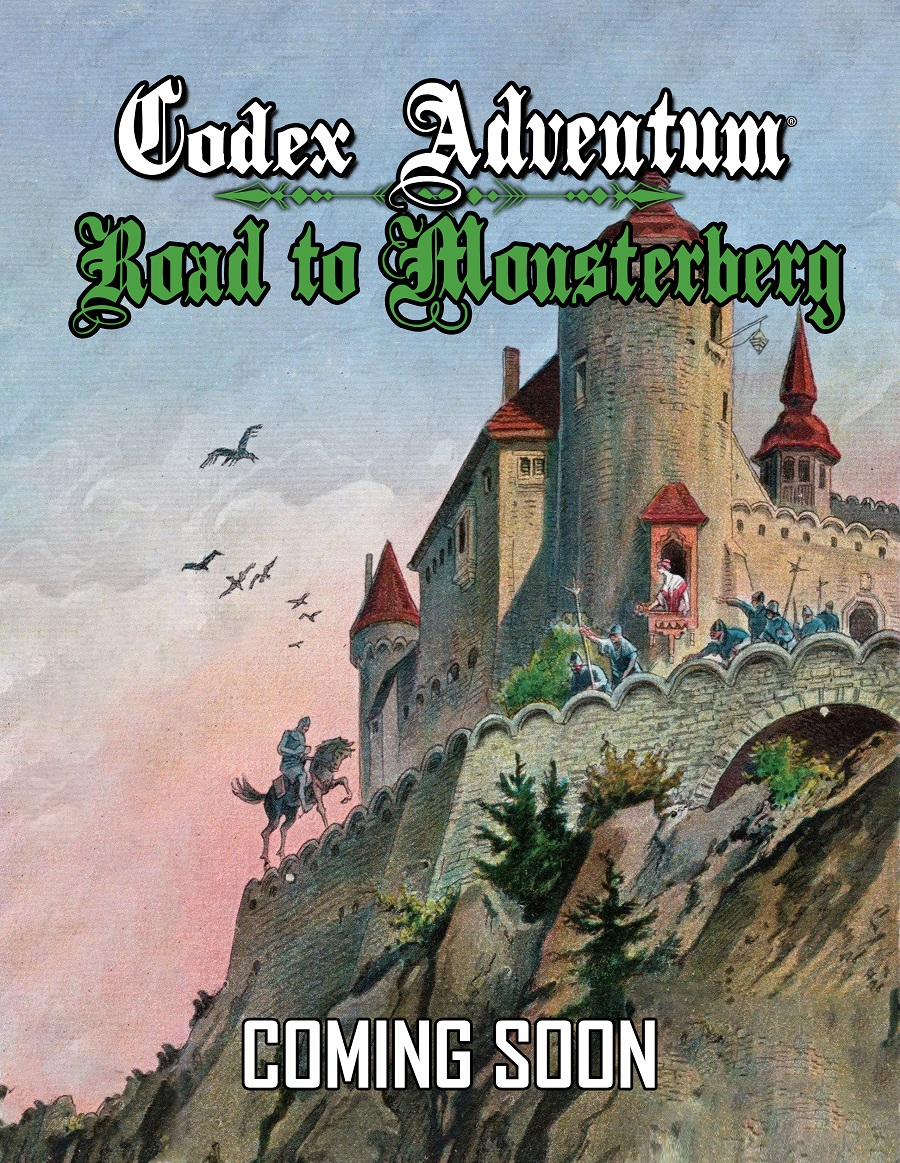 Codex Adventum: Road to Monsterberg