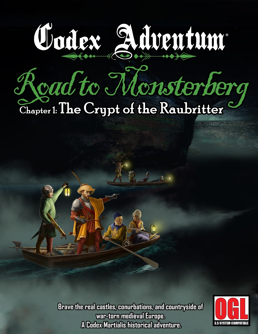 Codex Adventum: Road to Monsterberg - Chapter 1