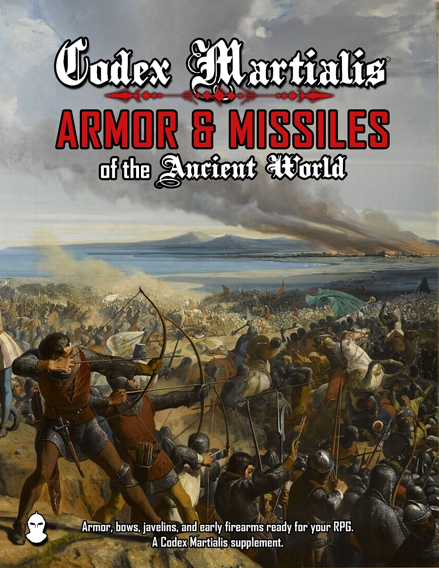 Codex Martialis: Armor & Missiles of the Ancient World Cover