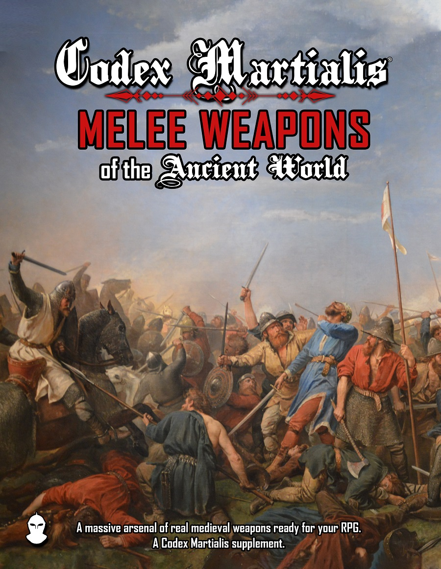 Codex Martialis: Melee Weapons of the Ancient World Cover