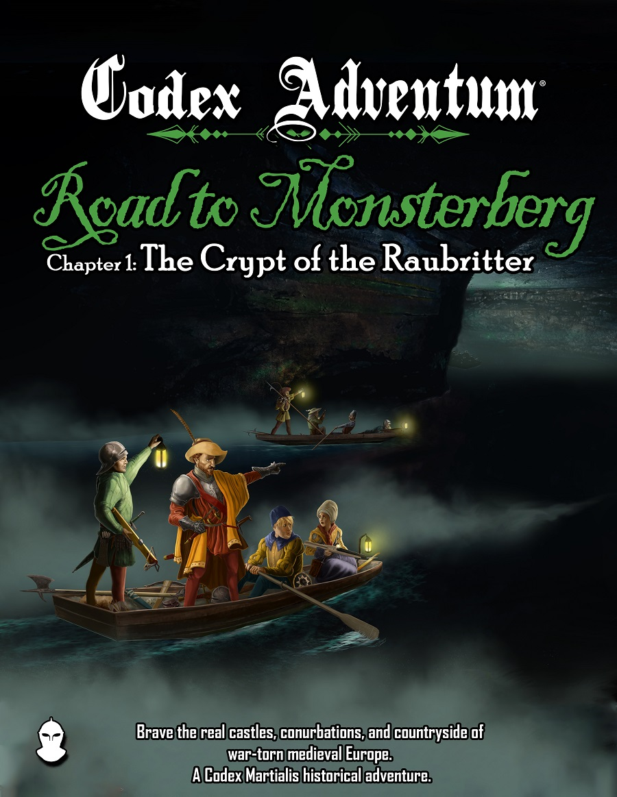 Codex Adventum: Road to Monsterberg Chapter 1 Cover